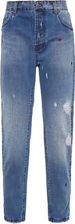 TWENTY FOUR SEVEN Calça lotus Jeans Hand Made Twenty Four Seven - Azul