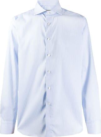 Canali Camisa mangas longas - Azul