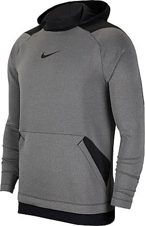 Nike Npc Hoodie Herren in charcoal heathr-black-black, Größe XL