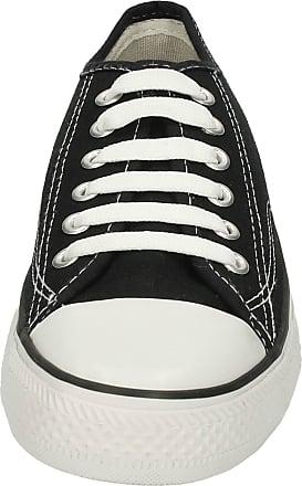 Spot On Childrens Spot On Canvas Lace Shoes - Black Canvas - UK Size 5 Child - EU Size 38 - US Size 6
