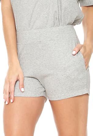 Calvin Klein Underwear Short Calvin Klein Underwear Canelado Cinza