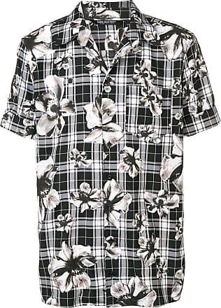Neil Barrett Camisa estampada - Preto