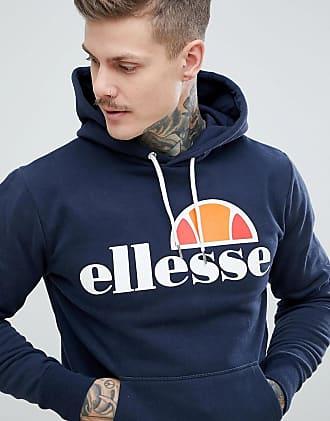 Ellesse hoodie with classic logo in navy - Navy