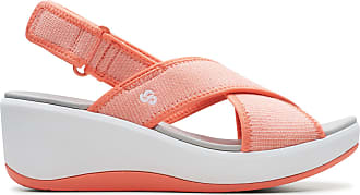 Clarks Womens Sandal Coral Clarks Step Cali Cove Size 5.5