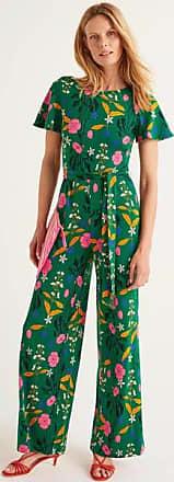 Boden Camille Ponte-Jumpsuit Green Damen Boden