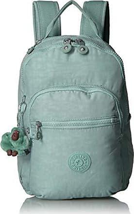 Kipling Womens Seoul Go Small, Padded, Adjustable Backpack Straps, Zip Closure, Fern Green Tonal