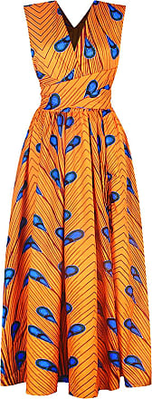 EmilyLe Womens African Boho Vintage Dress Elegant Floor Length High Waist Multiway Bandage Dress Ethnic Costume (XL, Yellow Blue)