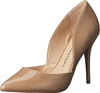 Chinese Laundry Womens Stilo DOrsay Pump, Nude Patent, 8 M US