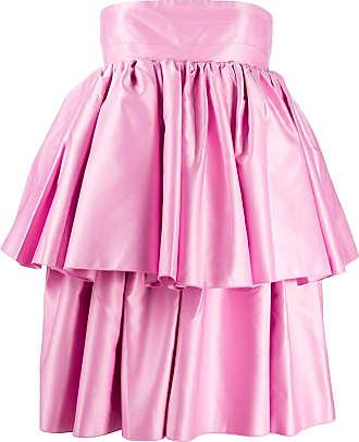 Rotate Vestido Carmina com babados - Rosa