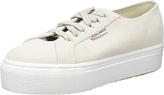 Superga 2790-Suew, Womens Low-Top Trainers, Multicolour (White Cream N20), 5 UK (38 EU)