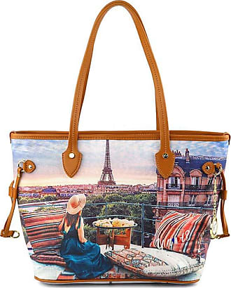 Y Not YNOT Paris View 336 Print Bag