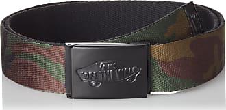 db844f6861 Vans Apparel Menss Shredtor Ii Web Belt Green (Classic Camo) One Size