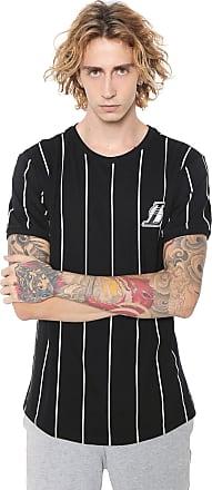 NBA Camiseta NBA Los Angeles Lakers Preta