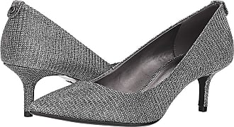 773af4282e3 Michael Kors MK-Flex Kitten Pump (Black Silver Glitter Chain Mesh) Womens