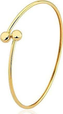 Toque De Joia Pulseira bracelete algema fina duas esferas pequenas
