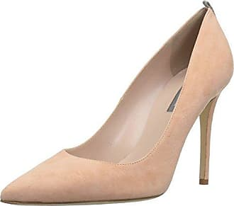 534df4ab106 SJP by Sarah Jessica Parker Womens Fawn Pointed Toe Dress Pump Signature  Nude Suede 39.5 B
