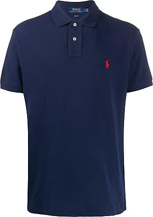 Polo Ralph Lauren Poloshirt mit Logo-Stickerei - Blau