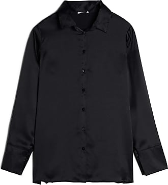 intimissimi Womens Silk Shirt with Reversible Cuffs