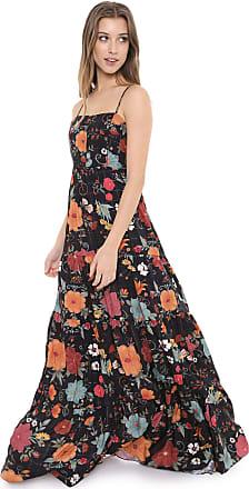 Dress To Vestido Dress to Longo Floral Preto