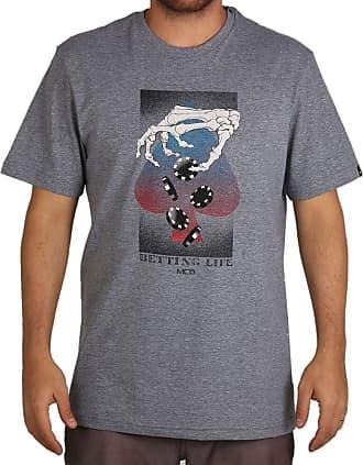 MCD Camiseta Regular Mcd Poker Chips - Cinza - M