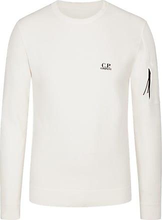 C.P. Company Sweatshirt in reiner Baumwolle von C.p. Company in Weiss für Herren