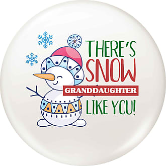 Flox Creative 77mm Pin Badge Snow Granddaughter Like You