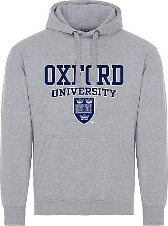 Oxford University Crest Hoodie - Sports Grey - L