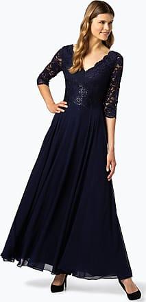 Vera Mont Damen Abendkleid blau