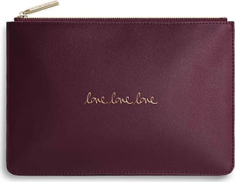 Katie Loxton Perfect Pouch - Love Love Love - Burgundy