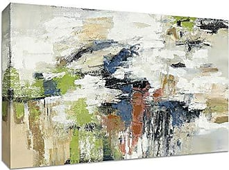 Tangletown Fine Art Highline View by Silvia Vassileva Gallery Wrap Canvas, Green/White/Blue