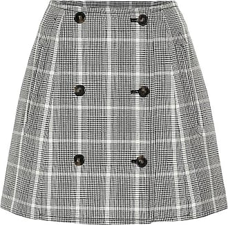 Stella McCartney Checked wool miniskirt