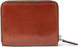 Il Bussetto Polished-leather Zip-around Wallet - Tan