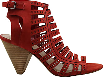 Vince Camuto Womens Evialina Fabric Peep Toe Casual Espadrille, Red, Size 5.5 US / 3.5 UK US