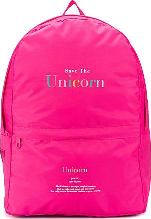 Ireneisgood Mochila Save The Unicorn oversized - Rosa