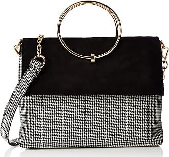 a3928f880f05 New Look Womens Dogtooth Matilda Cross-Body Bag Black (Black Pattern)