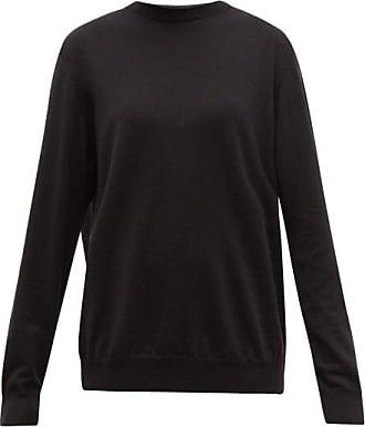 Wardrobe.NYC Wardrobe.nyc - Release 01 Dropped-shoulder Merino-wool Sweater - Womens - Black