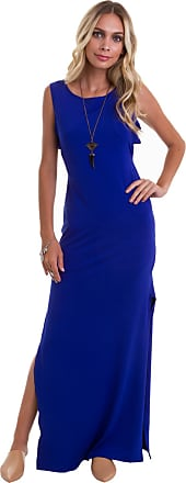 Manola Vestido Manola Longo Regata Azul Bic Azul
