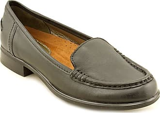 13cdde62ce4 Hush Puppies Blondelle Womens Black Leather Loafers Shoes UK 3