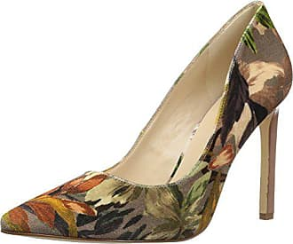 Nine West Womens Tatiana Fabric Pump, Angel Floral Velvet, 7 Medium US