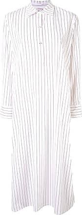 Eres striped print shirt dress - Weiß