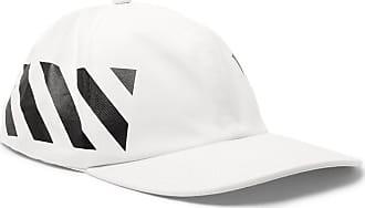 f5b6d456 Off-white Striped Cotton-twill Baseball Cap - White