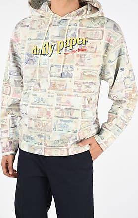 Daily Paper Clothing Felpa Stampata con Cappuccio taglia Xl