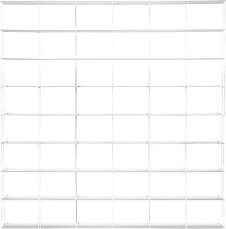 The Conran Shop Krossing Shelving Unit White Medium 200 x 200cm