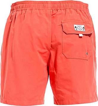 Cuisse de Grenouille pacifique board shorts color orange red