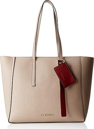 903bfffbed Calvin Klein Jeans Ck Base Large Shopper, Womens Shoulder Bag, Brown  (Tobacco)