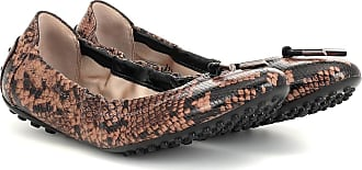 Tod's Exclusive to Mytheresa - snake-effect leather ballet flats