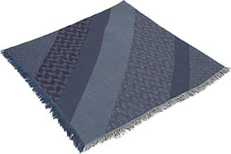 Giorgio Armani Lenço de Lã Estampado - Homem - Azul - Único IT