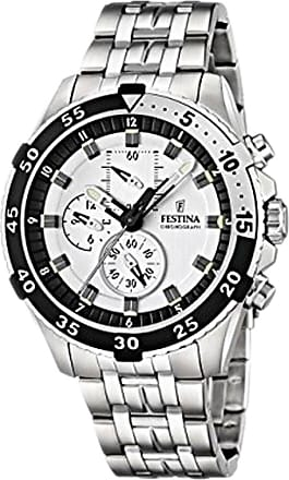 Festina Watch for Men, Silver, Stainless Steel, 2017, One Size