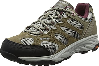 Hi-tec Womens Hiking Shoes Waterproof Trainers Suede Trainers Cougar Low UK 4-8