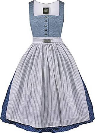 555afd3002c08d Hammerschmid Damen Trachten-Mode Midi Dirndl Chiemsee in Blau traditionell,  Größe:50,
